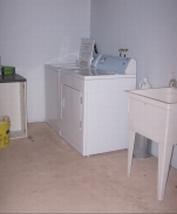 Salle de lavage communautaire