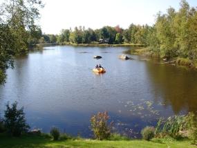 Sortie au lac